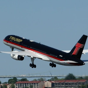 Donald Trump fits his Boeing 575 with bling and gadgets