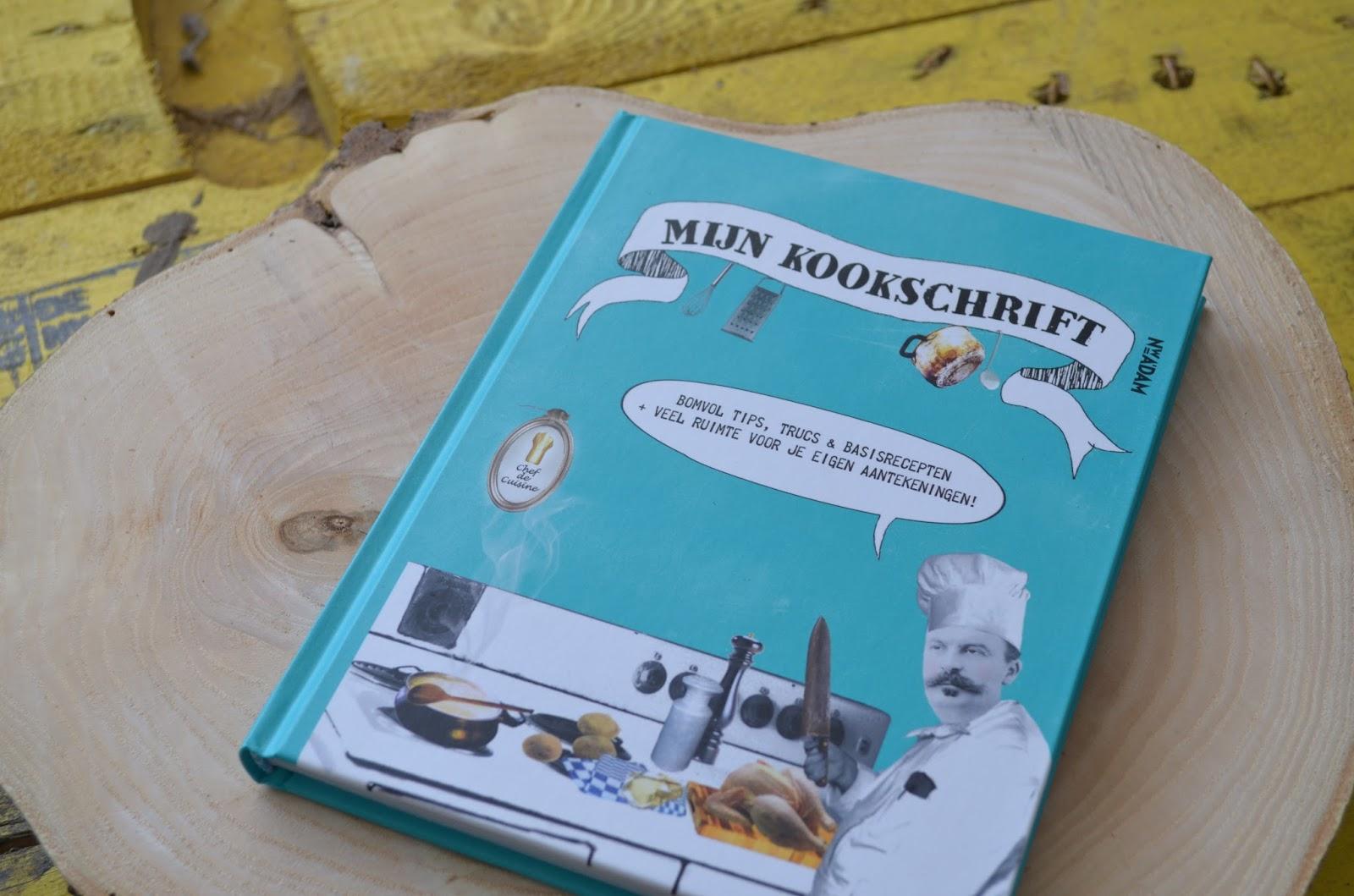 boek voor eigen recepten