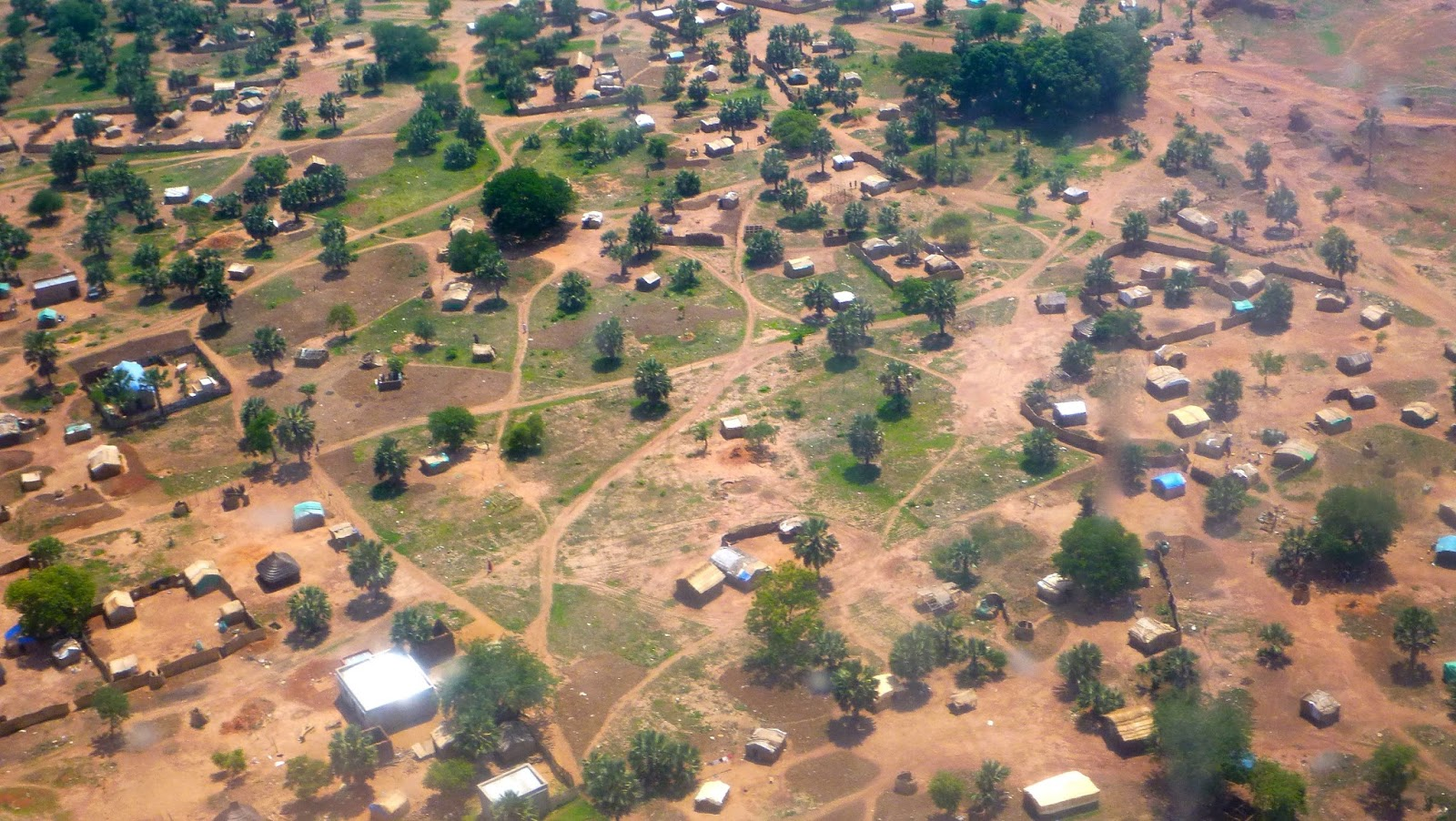 Areial photo of Aweil