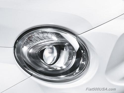 New Fiat 500 Headlight and Driving Light