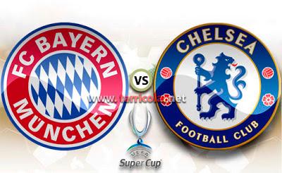 Bayern Munich vs Chelsea , Supercopa de Europa 2013
