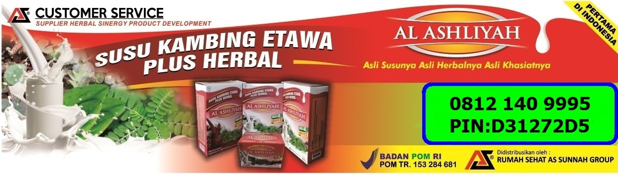 SUSU KAMBING ETAWA PLUS HERBAL AL AHSLIYAH