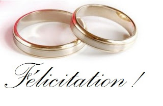 felicitation mariage