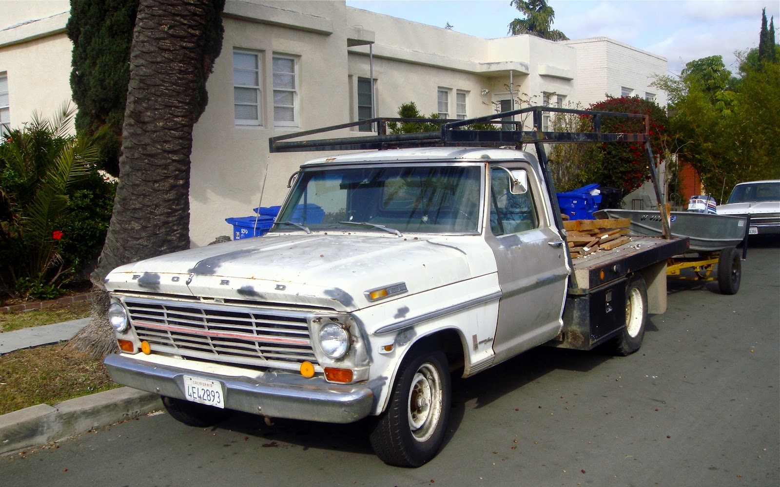 The Street Peep 1969 Ford F 250 Ranger Camper Special