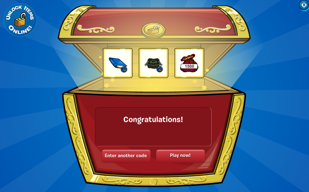You'll unlock 1500 free coins, the blue book, and the exclusive