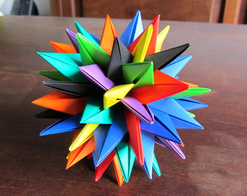 Shiroi neko rstuvwxyz star - Origami de una estrella ...