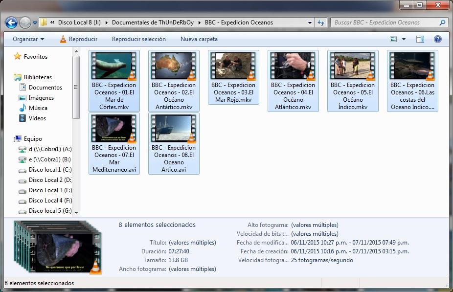 14GB|BBC|Expedicion Oceanos|HDRip|Dual Audio|MEGA|Taykun