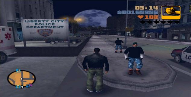 GTA 3 Police Station