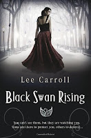 Book cover of Black Swan Rising by Lee Carroll