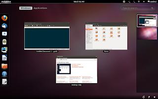 En Ubuntu 12.10 podrás elejir entre Unity y Gnome Shell