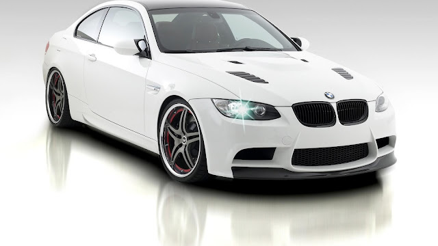 White BMW M3 Car