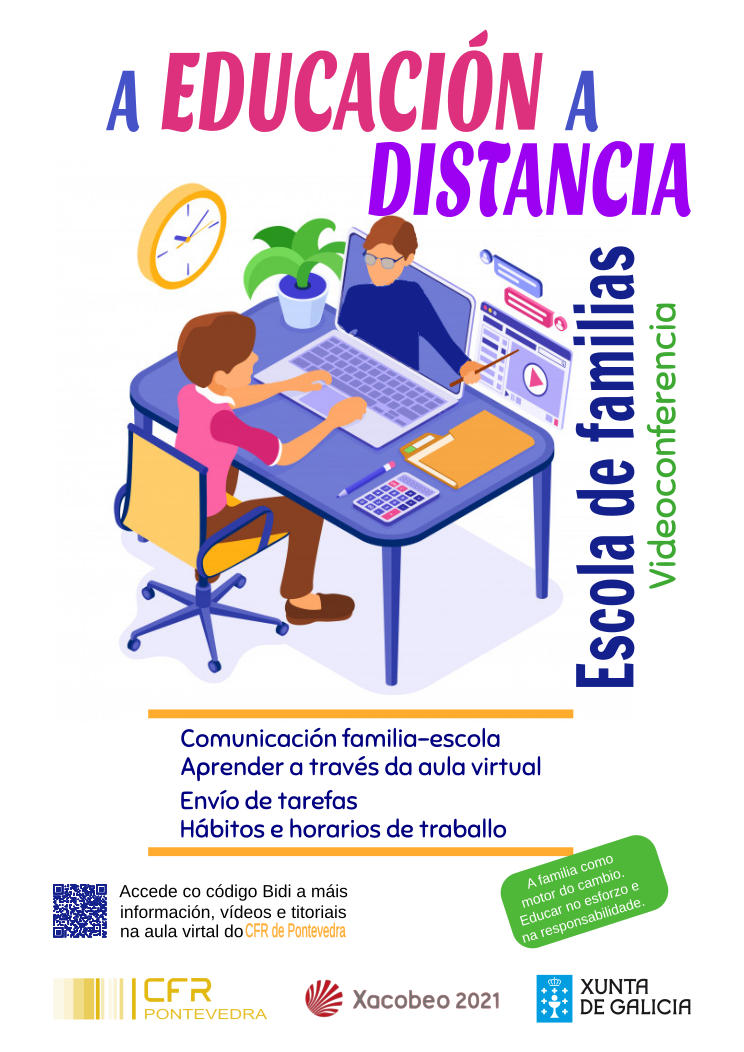 EDUCACIÓN A DISTANCIA ESCOLAS DE FAMILIAS