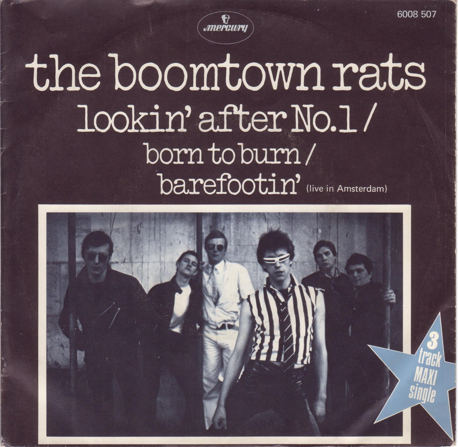 Boomtown Rats Lookin After No 1