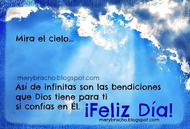 infinitas bendiciones de Dios