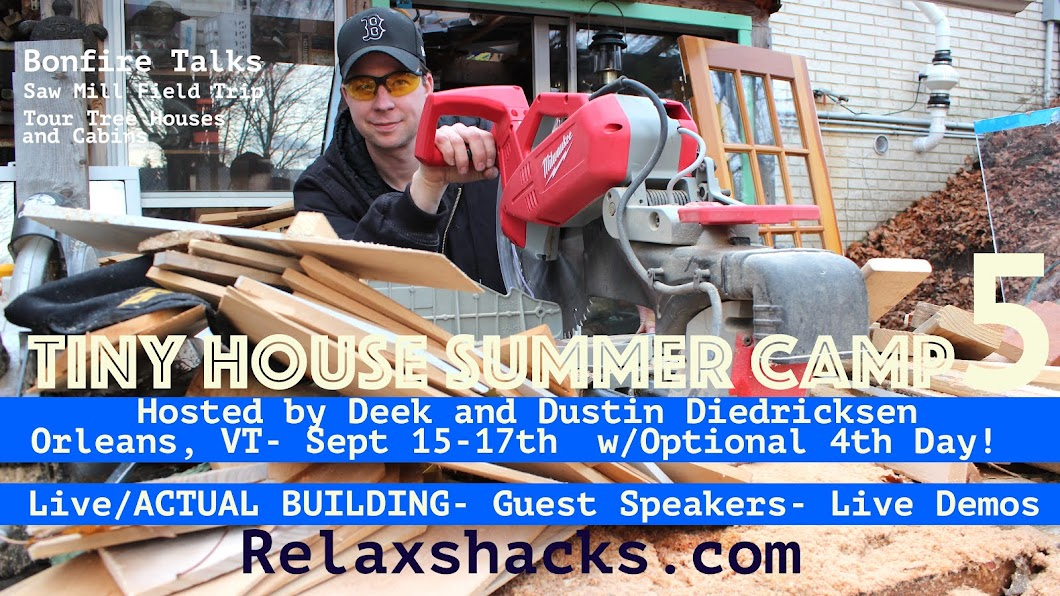 Relaxshackscom LOS ANGELES Hands On Tiny House WORKSHOP