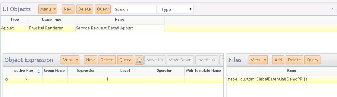 Siebel Open Ui Code Template Generator