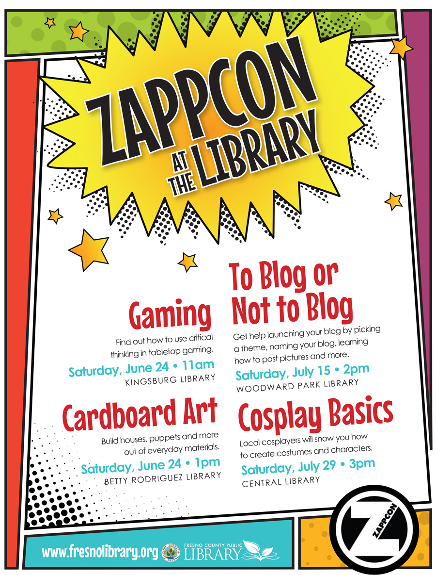 ZAPPCON Summer Programs at FCPL