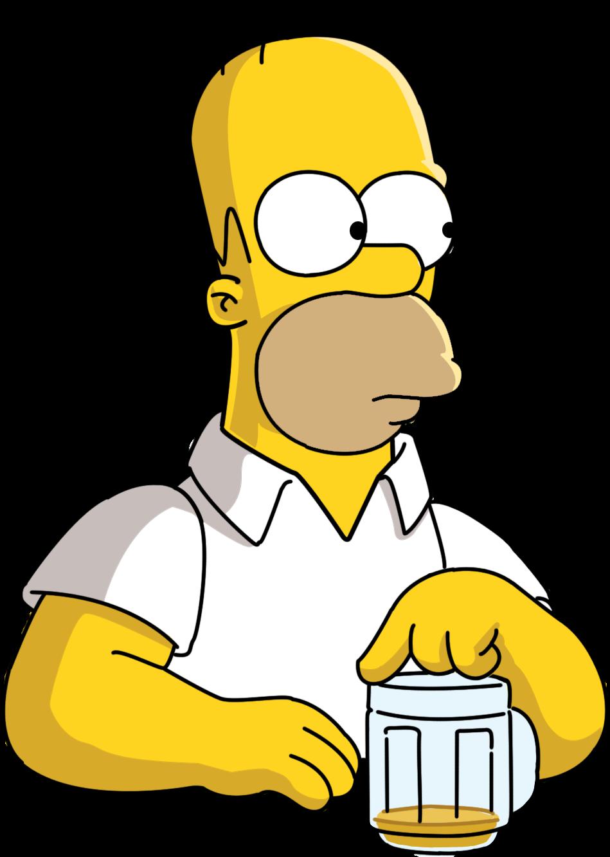 Homer Simpson | GRAZY BLOG Inspector Silhouette