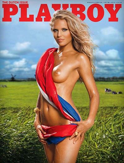 Hester Winkel Playboy Netherlands