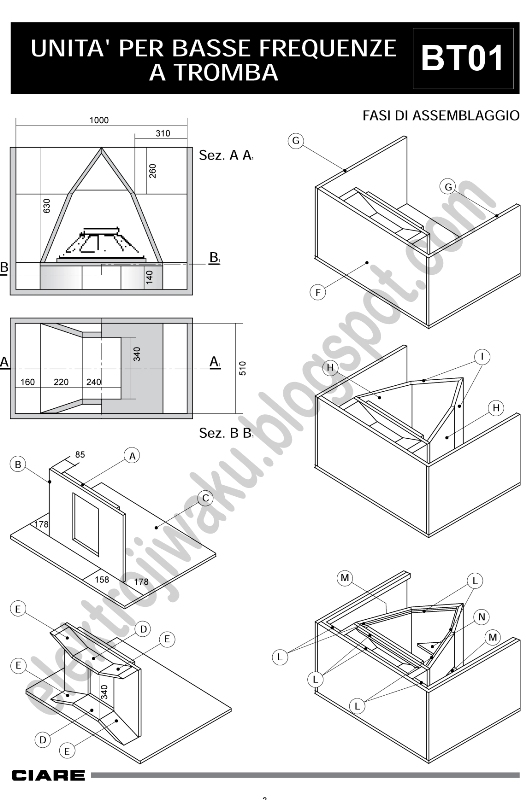 box subwoofer profesional part 2