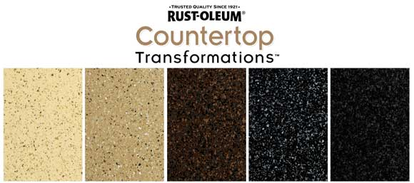 Rust Oleum Stone Effects Countertop http://honeypied.blogspot.com/2011/05/re-dos-on-brain.html