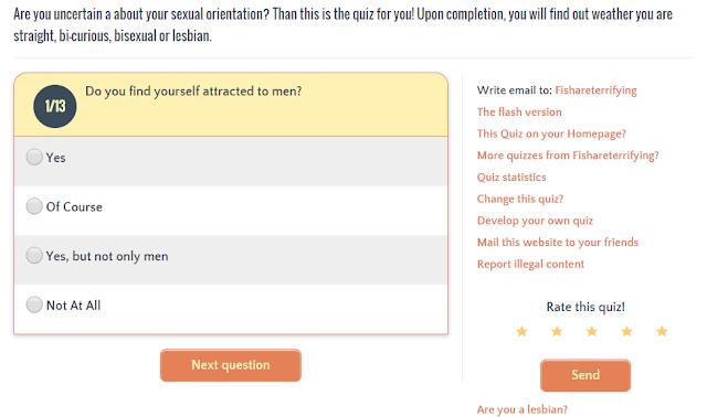 am i bisexual quiz