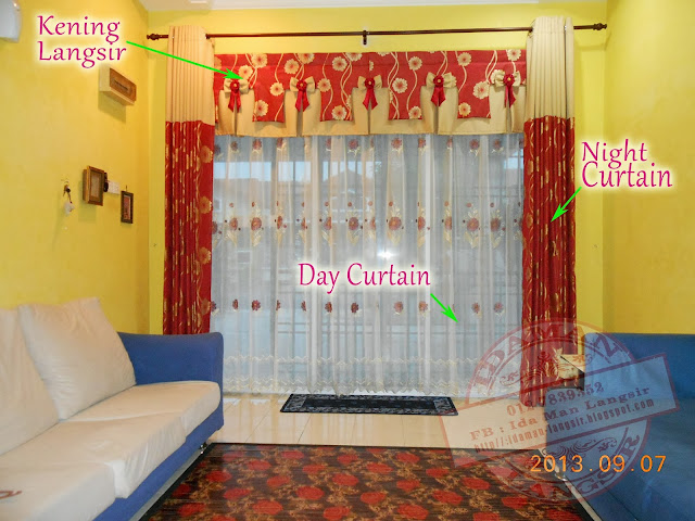 IdaMan Curtain n Railing