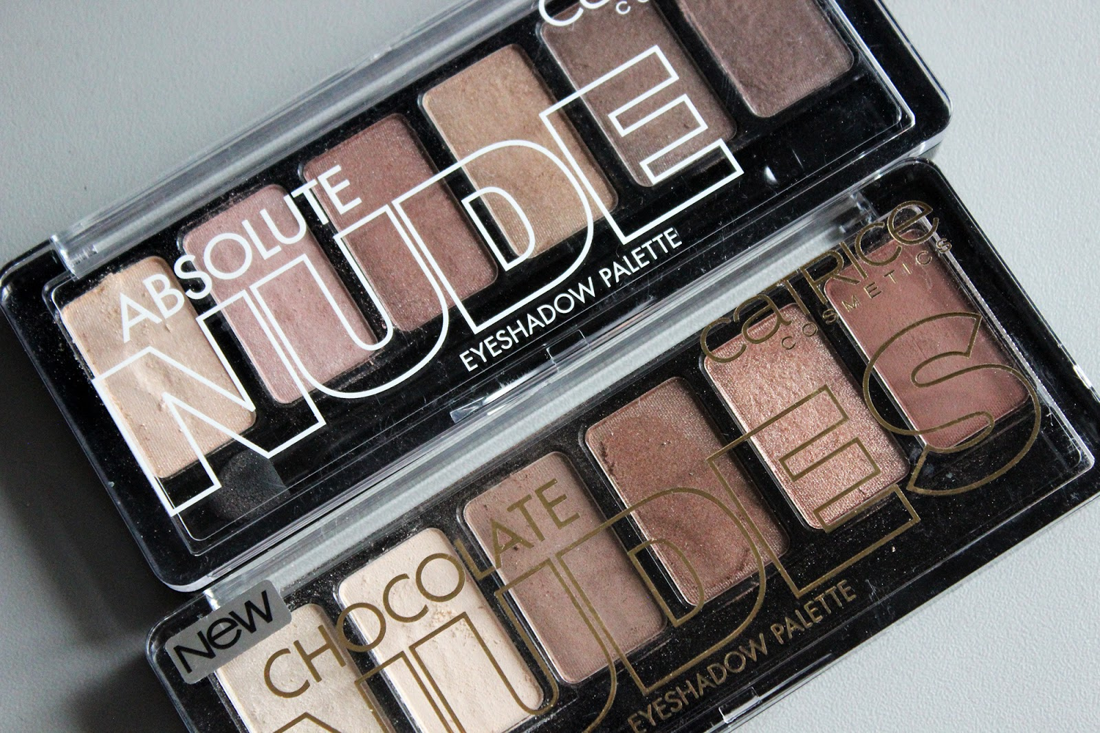 CATRICE Absolute eyeshadow palette: Nude, Chocolate Nudes ...