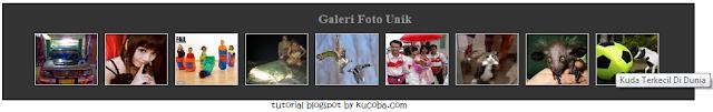 Membuat Widget Galeri Foto Di Blogspot
