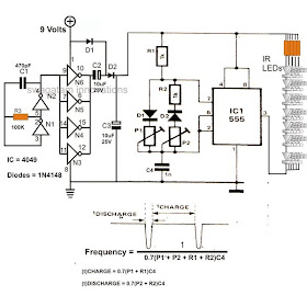 [SCHEMATICS_48ZD]  Wiring schema blogs: Infra Red IR LED Flood Light Circuit Diagram | Wiring Diagram For A Flood Light |  | Wiring schema blogs - blogger