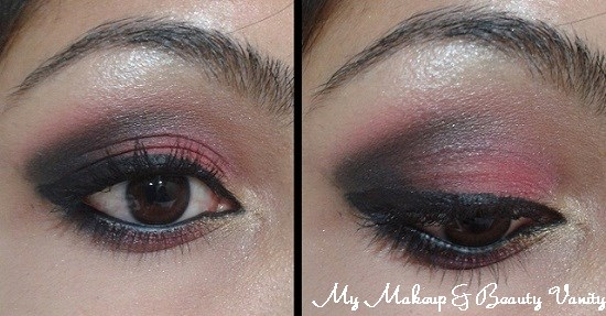 Smokey Pink Eye Makeup+easy smokey eye tutorial+eye makeup tutorial