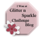 Glitter N Sparkle Challenge 14 Winner