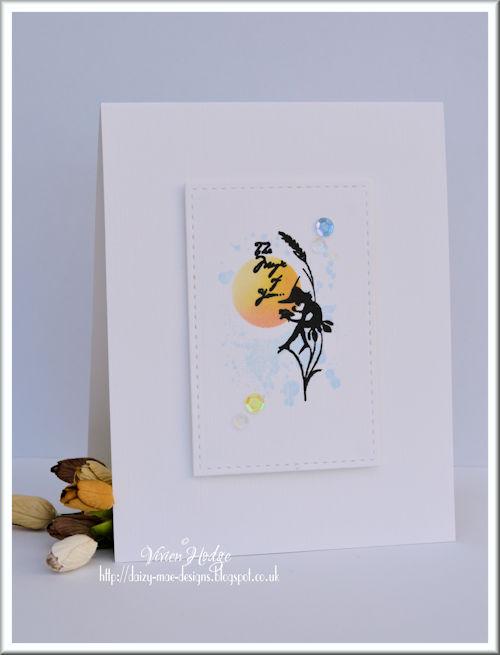 Silhouette, Fairy, CAS