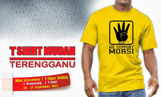 MINI GIVE AWAY BY T-SHIRT MUDAH TERENGGANU