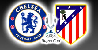 Prediksi Skor Pertandingan Chelsea vs Atletico Madrid Piala Super Eropa 1 September 2012