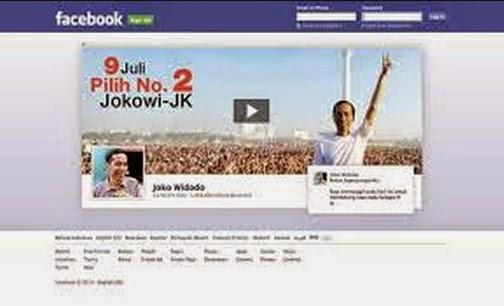 salah satu model Kampanye Jokowi di IKLAN Facebook