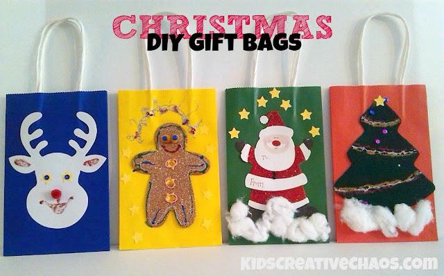 Diy Christmas Gift Bag Ideas