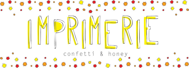 Imprimerie: confetti & honey