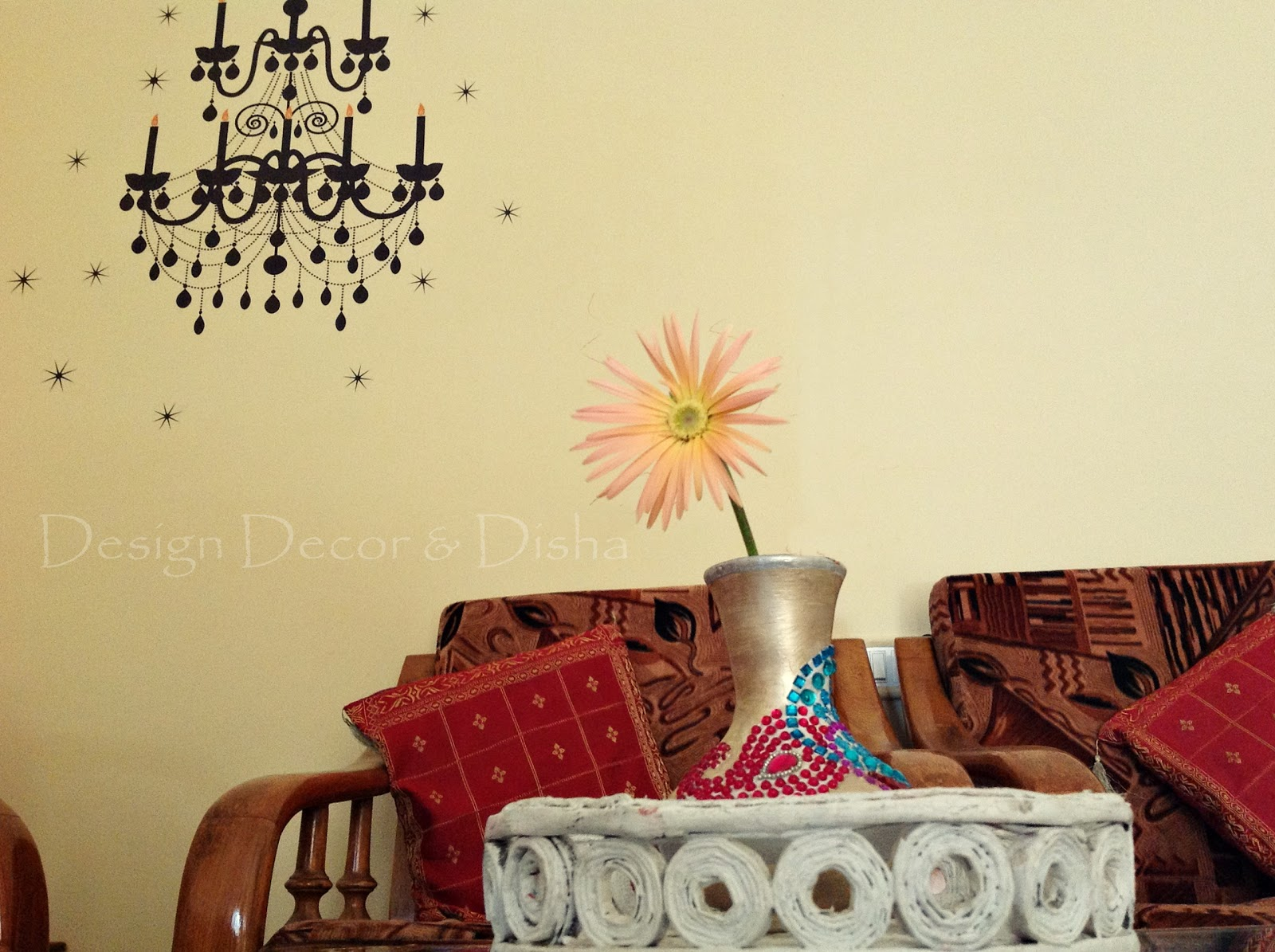 Design decor disha an indian design decor blog kwikdeko but who wants to remove it its enhancing beauty of my space and adorning my living room wall want to know more about kwikdeko read on amipublicfo Choice Image