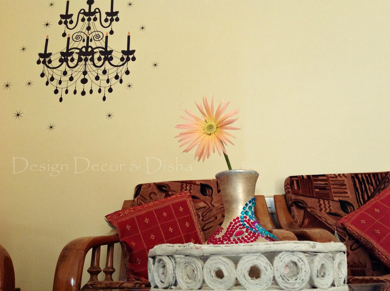 Design Decor & Disha | An Indian Design & Decor Blog: KwikDeko Wall ...