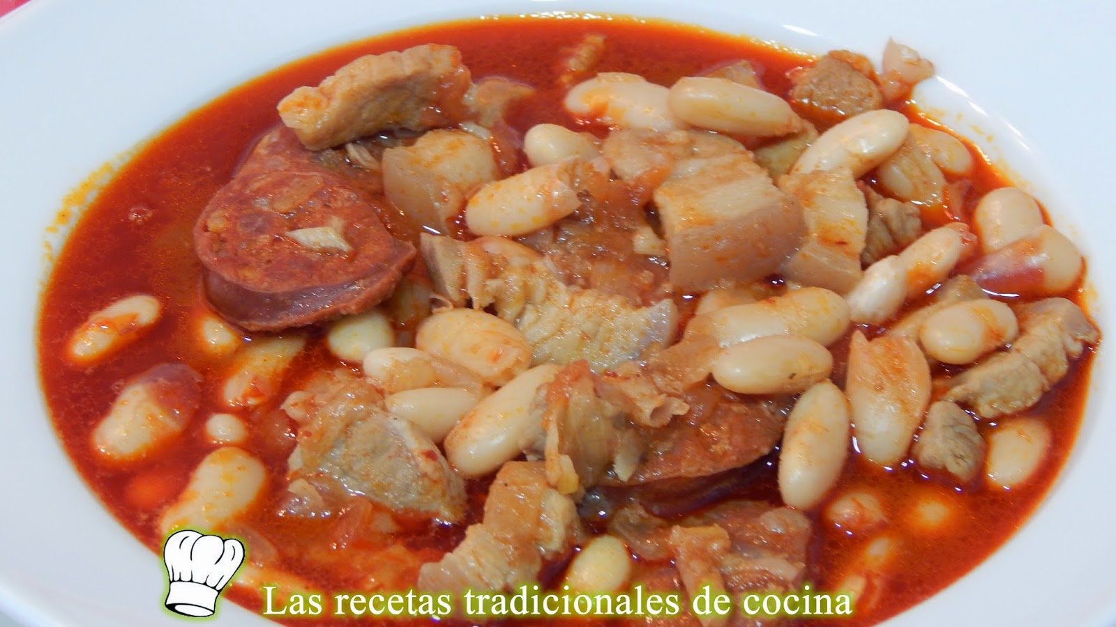 Alubias con chorizo o a la Riojana