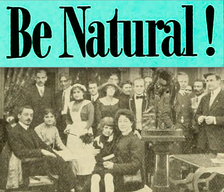 Be Natural Original story of Alice Guy Blaché by herself