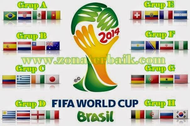 Hasil Lengkap Grup A Piala Dunia 2014 Brazil Juara | Share ...