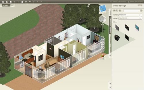 3d e o melhor tudo no browser http  homestyler designer