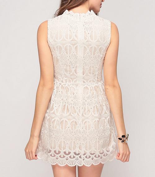 Byzantine Lace Dress