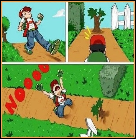 Funny Pokemon Video Game Logic