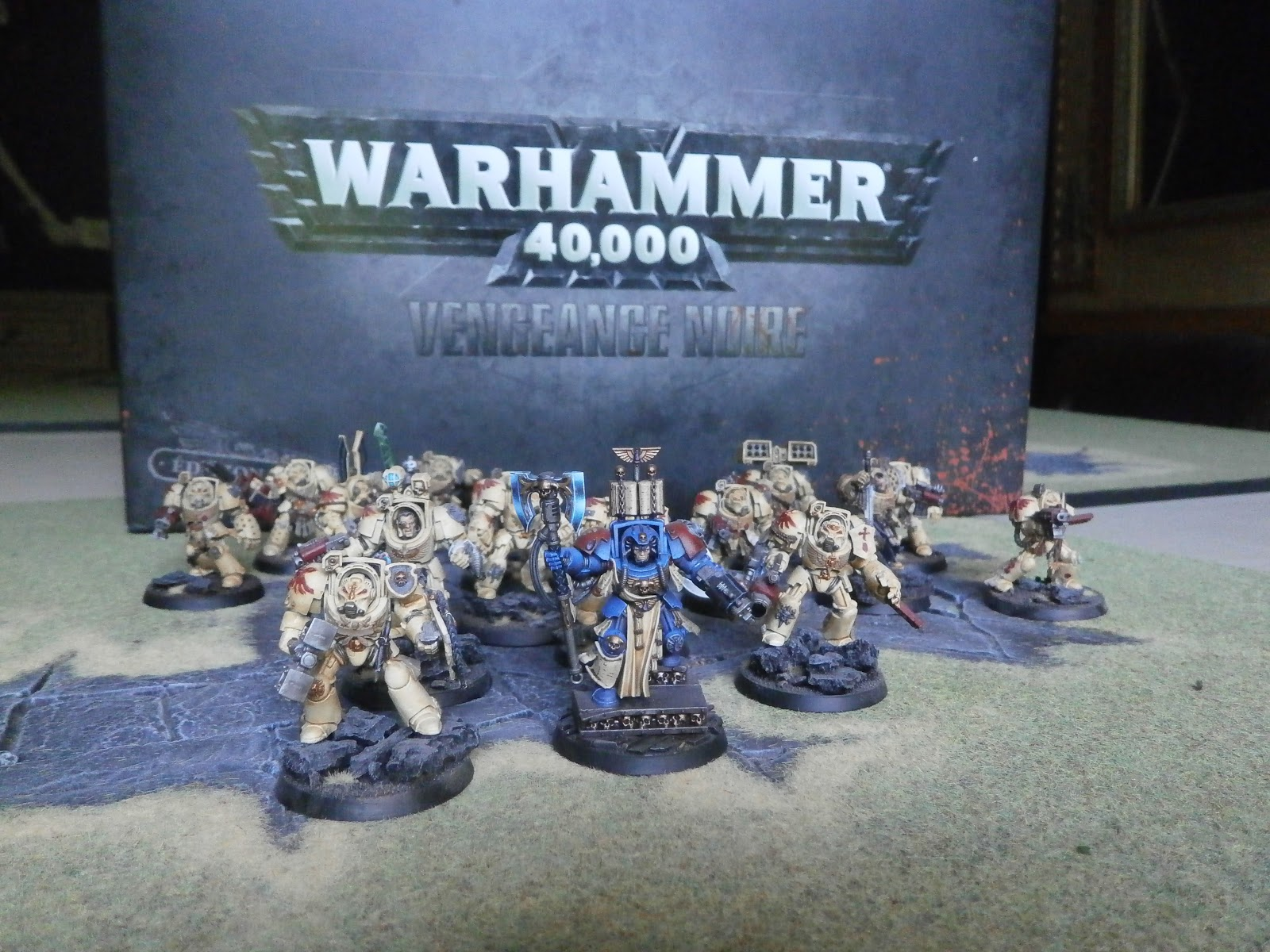 how to build a deathwing strike force army