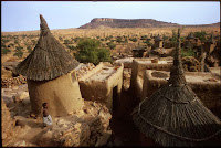 Massina village south Mali