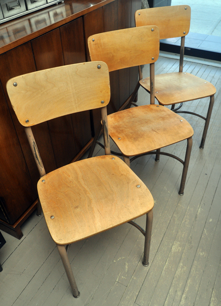 Scout chicago wooden school chairs