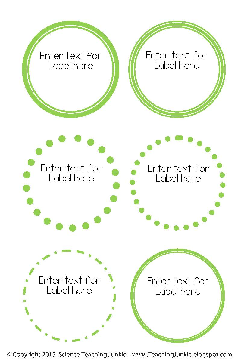 Declarative image with circle labels printable
